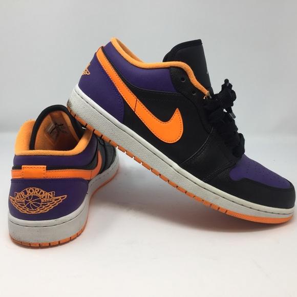 606c6dbbcc16 Jordan Other - Nike Mens Air Jordan 1 Retro Low Purple   Blk 11.5